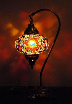 Casablanca  Handmade Turkish Lantern Table Lamp by VinternbyAnamK