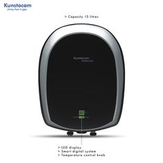 Kunstocom's Technomac Electric Water Heater with a capacity of 15 litres has a 5 Star Rating its tank is lined with blue enamelled glass, comes with a multi function safety valve. Its heating rods are glass lined and are magnesium resistant. Technomac is priced at Rs. 7990/- #kunstocom #madeinindia