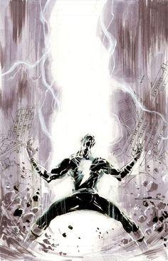 Black Adam By Yildiray Cinar Captain Marvel Shazam Dc Comics
