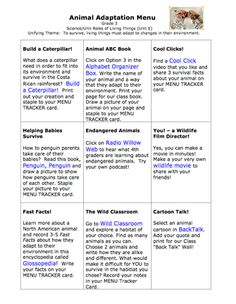 Printables Animal Adaptations Worksheets i love this kids take two different animals and combine their adaptations to create a whole new animal labeling each part of course where does