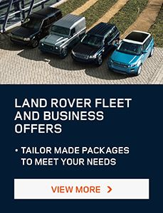 Land Rover Fleet and Business Offers