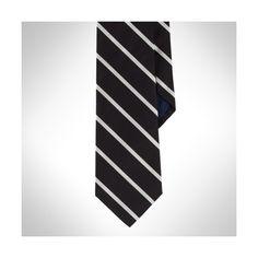 Polo Ralph Lauren Sudbury Striped Silk Tie ($125)