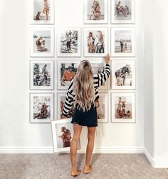 dding more of our favorite photos to the gallery wall! Tag a friend who would li… dding more of our favorite photos to the gallery wall! Tag a friend who would like thi Instead of your favorite photoHow to Hang a Gallery WalLarge Photo Gallery Wall