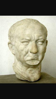 Vespasiano di Ostia, 70 d.C.Marmo.Da Ostia.Oggi conservato presso Museo Nazionale romano.