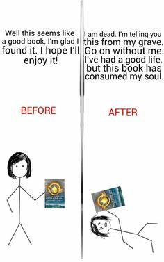 Yo después de leer Divergente e Insurgente @OdalaraC @LionEm @AndreinaPotter @DaniPulve @WitchSexy