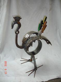 August & September  2012 Metal Art