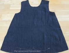 How to sew a reversible a-line dress Method shown for a child's dress but could work just as well for adults