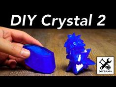 How to Grow Green Single Crystal of Mohr's Salt at Home? DIY homemade! - YouTube