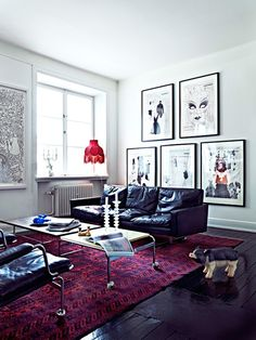 Quirky apartment photographed by Jonas Ingerstedt
