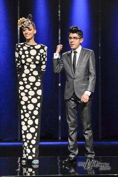 Mondo Guerra. Project Runway Season 8. This polka dot dress was just as fabulous as Mondo!