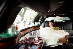 Choose our limos in Sacramento for your wedding transportation service at reasonable rates.