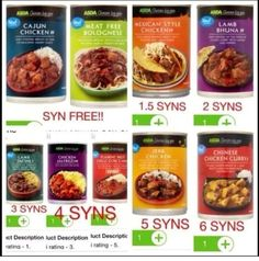 Asda free and low syn