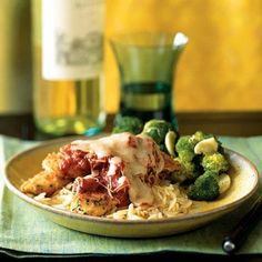 Herbed Chicken Parmesan-made this last night. Easy and delicious! Perfect food for a date night.