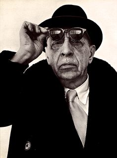 Igor Stravinsky. Russian, and later French and American composer, pianist and conductor. He is considered by many to be one of the most important and influential composers of the 20th century.
