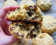 omg, so happy i just found this recipe. this is a copy cat recipe of the famous cookies from levain bakery. i've seen them on 3 different shows on the food channel and made my cousin who lives in NYC go there. amazing.
