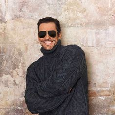 David Gandy Dolce & Gabbana Spring 2020 Men's Eyewear Campaign Abed Mahfouz, Georges Chakra, Chanel Cruise, Tony Ward, Zuhair Murad, Elie Saab, Selfies, Milan, David James Gandy