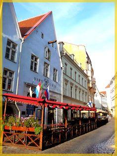 Tallinn (Estonia). Hotel Viru Inn.