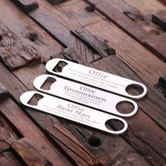Unique groomsmen gift ideas for every groomsmen in your party. Repin this and follow us! || Only from Groomsday.com