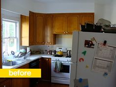 kitchen before & after: a 1970s kitchen goes contemporary for