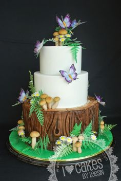 Penang Wedding Cakes by Leesin: Fantasy Forest Wedding Cake