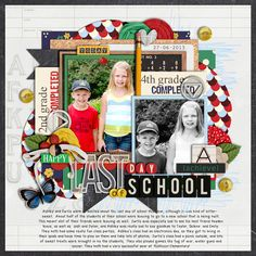 Last Day of School - Scrapbook.com