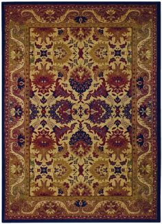 """Couristan Rugs: Anatolia Royal Plume Rug (2'3"""" X 3'3"""") by COURISTAN INC. $47.81. Couristan Rugs: Anatolia Royal Plume Rug. An easy way to make your home warm and inviting. Stylized in a traditional antique Persian fashion with intricately detailed designs, the Anatolia Collection brings old-world charm to todays most treasured home interiors. Each pattern features a plush surface adorned with symmetrical floral motifs and Persian medallions. Multiple borders surround t..."""