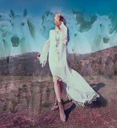 Shanay Hall By Zoey Grossman/ For Love & Lemons Fall '12 lookbook