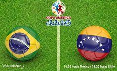 Brasil vs Venezuela, Copa América 2015 ¡En vivo! - http://webadictos.com/2015/06/21/brasil-vs-venezuela-copa-america-2015/?utm_source=PN&utm_medium=Pinterest&utm_campaign=PN%2Bposts