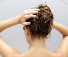How to Use Coconut Oil on Relaxed Hair Relaxed Hair, Winter Hairstyles, Bun Hairstyles, Sleeping With Wet Hair, Honey Hair, Celebrity Hair Stylist, Hair Strand, Hair Health, Hair Dos