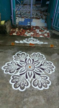Traditional Style Rangoli Art And Painting Rangoli Pinterest