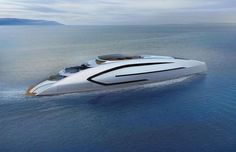 "@luerssenyachts has shared the project of the next finalist of the ""Young Designer of the Year Award"" . 80m concept Olokun has been created by Barcelona-based designer Dani Santa who describes the project as a futuristic yacht with a low profile and dynamic silhouette."