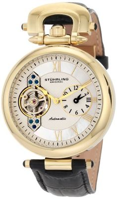 Stuhrling Original - 'Emperor' Dual-Time Zone #Watch    I OWN THIS.