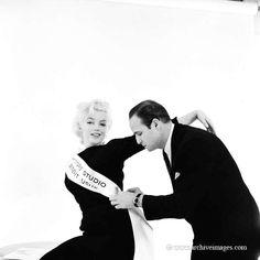 Milton Greene, Marilyn Monroe, Marlon Brando, The rose tattoo sitting