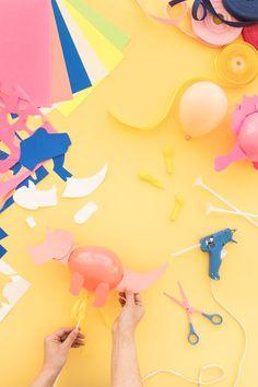 Mini Dinosaur Balloon Sticks