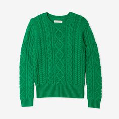 NILSEN CABLE KNIT SWEATER