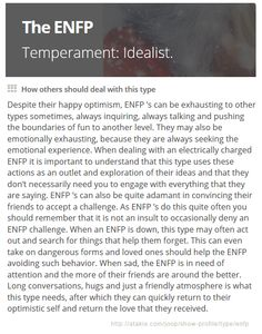 ENFP: How others sho