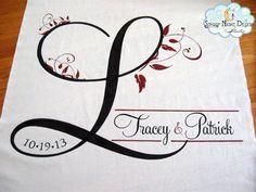 Fall Aisle Runner Fall Wedding Aisle runner by StarryNightDesign, $235.00