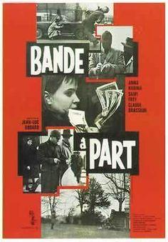 Bande à Part - Jean-Luc Godard - 71x101cm AFFICHE ¤ POSTER ¤ Envoi en Tube