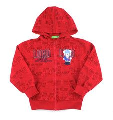 Red graphic hoodie sweater / Chandail capuche rouge graphique