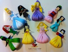 Princess Hairbows- so cute, but I am not sure I have the patience for this...  :)