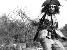 Othon Bastos,'Capitão Corisco' in Deus e o Diabo na Terra do Sol, de Glauber Rocha, 1964.Cena Brechtiniana! <3
