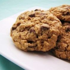 Chewy Chocolate Chip Oatmeal Cookies - Allrecipes.com