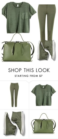 """""""Untitled #24"""" by ioana-lorena on Polyvore featuring Topshop, Keds and Jil Sander"""