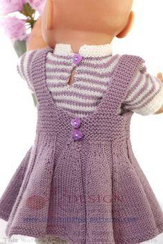 Sommer Strickwaren für Ihre Puppe