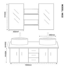norme hauteur lavabo salle de bain hauteur meuble salle de bain ...