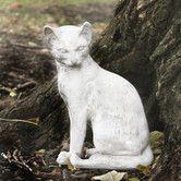 Found it at Wayfair - Animals Cat Waiting Statue