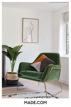 Green velvet and ele