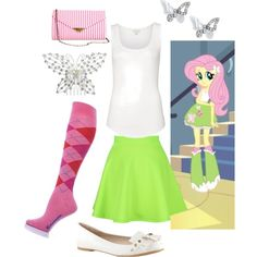 Fluttershy - Equestria girls - inspired outfit
