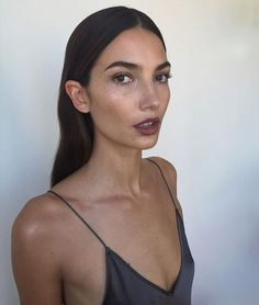 Lily Aldridge | Minimal Makeup | Beauty | Strong Brow | Natural and Understated | HarperandHarley