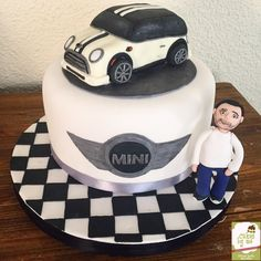 Mini Cooper Cake  By Cakesbyme